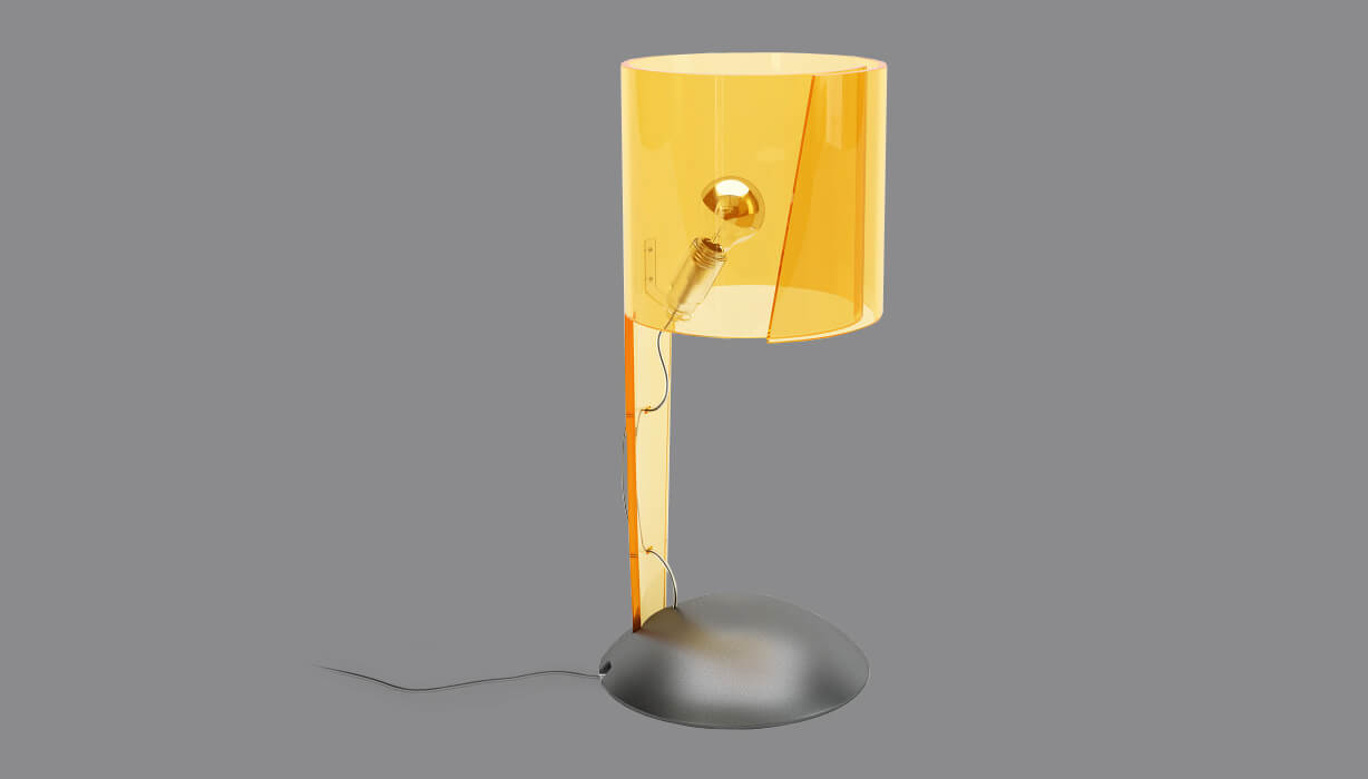 Lamp Product Rendering